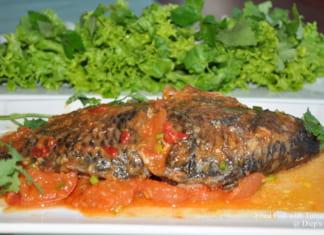 Món ngon từ cá rô phi sốt cà chua đậm đà